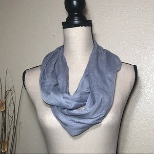 Accessories - Grey Infinity Scarf